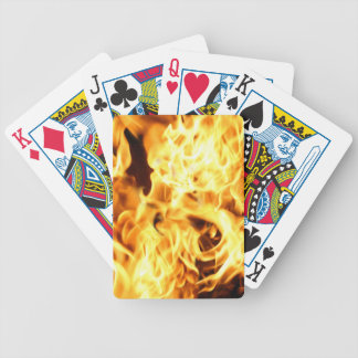 Fire Flames Burning Fiery Gift Item Card Deck