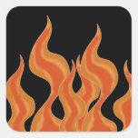 Fire flames Sticker