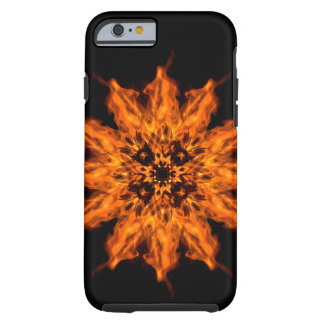 Fire Flower Mandala Fire Art Phone Case
