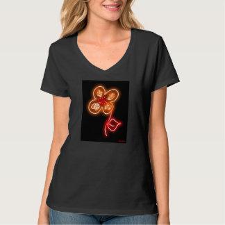 """""""Fire Flower"""" t-shirt"""