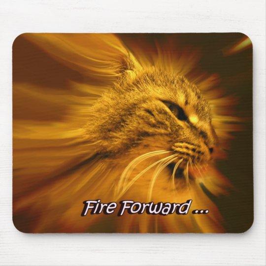 Fire Forward Mouse Mat