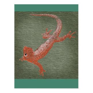 Fire Gecko Design Postcard