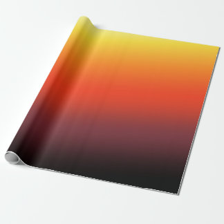 Fire Gradient Wrapping Paper