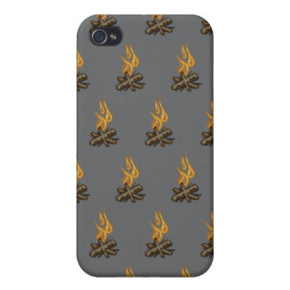 Fire Grey iPhone 4/4S Cases