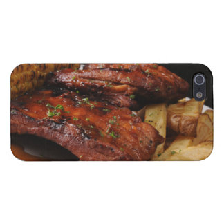 Fire Grilled Barbecue Ribs iPhone 5  Case Case For iPhone 5/5S