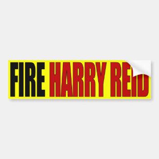 Fire Harry Reid - Anti Harry Reid Bumper Stickers
