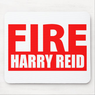 Fire Harry Reid Mouse Pads