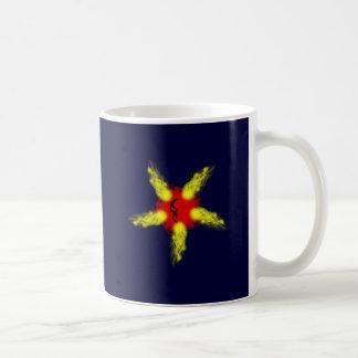 Fire head five-serrate fire skull pentacle coffee mugs