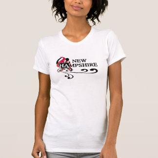 Fire Heart New Hampshire T-Shirt