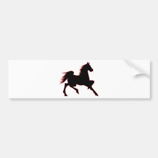 Fire Horse Bumper Sticker