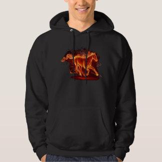 Fire horse hoodie