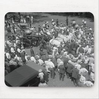 Fire Horses Retirement Party, 1925 Mouse Pad