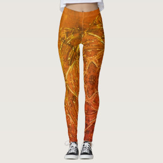 fire hot custom mandala yoga leggings