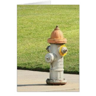 Fire Hydrant Card