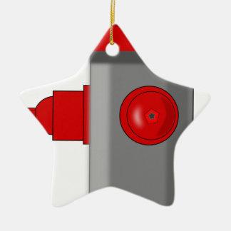 Fire Hydrant Christmas Ornament