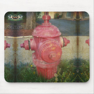 Fire Hydrant Mousepad