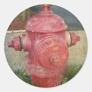 Fire Hydrant Sticker
