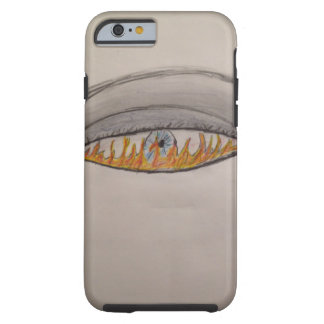 Fire in eyes tough iPhone 6 case