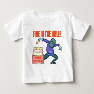 Fire In The Hole 55th Birthday Gifts Tees