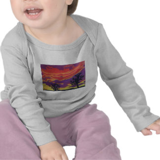 Fire in the Sky Infant Long Sleeve T-Shirt