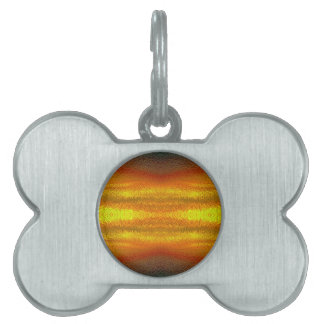 Fire In The Sky Pet ID Tag