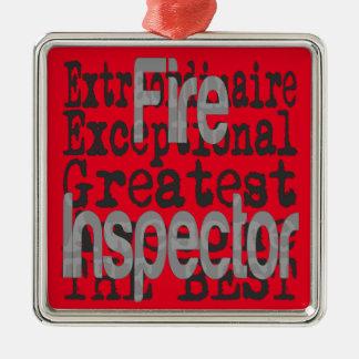Fire Inspector Extraordinaire Christmas Ornament