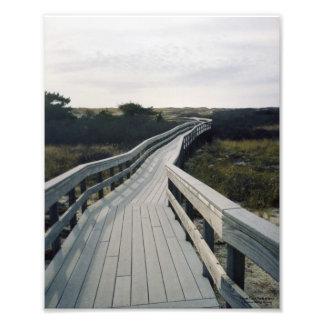 Fire Island Boardwalk Art Photo
