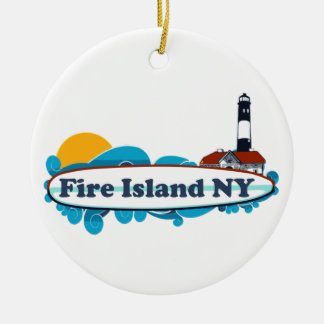 Fire Island. Christmas Ornament