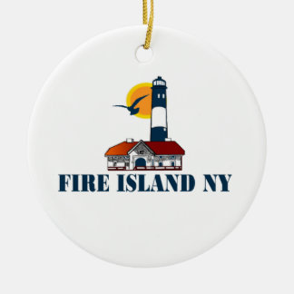 Fire Island. Ornaments