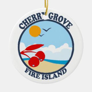 Fire Island. Ornament