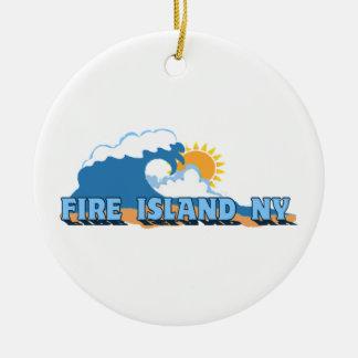 Fire Island. Christmas Ornaments