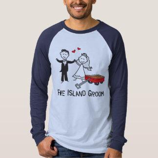 Fire Island Groom T-shirt