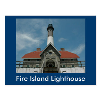 Fire Island Light House Postcard