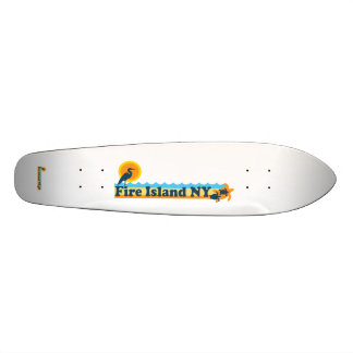 Fire Island Lighthouse. Skateboard