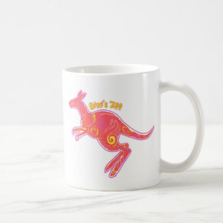 Fire Kangaroo Coffee Mug