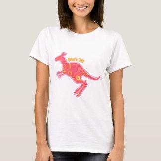 Fire Kangaroo T-Shirt
