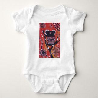FIRE KOALA BABY BODYSUIT