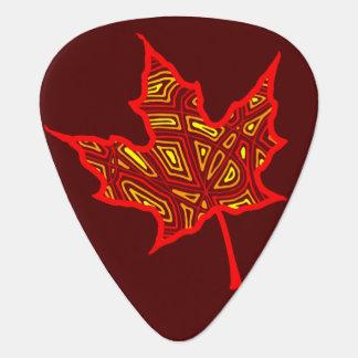 Fire Leaf Plectrum