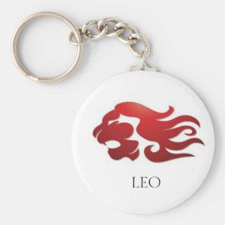 Fire Leo Key Ring