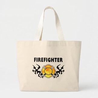 Fire Line Tattoo Tote Bag