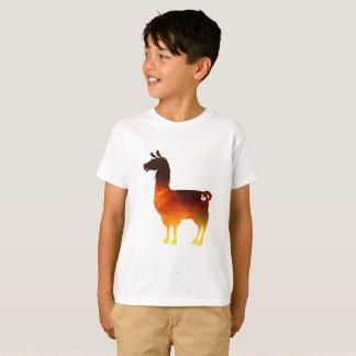 Fire Llama Kids T-Shirt