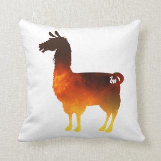 Fire Llama Pillow