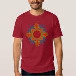 Fire-Lotus-Eye yantra T Shirt