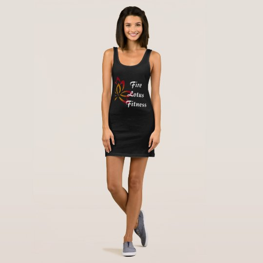 Fire Lotus Fitness dress