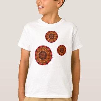 Fire Mandala Kid's and Baby Light Shirt