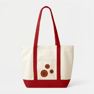 Fire Mandala Light Tote Bag