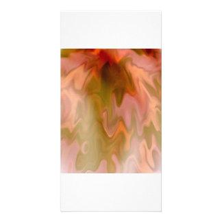 Fire Melt Custom Photo Card