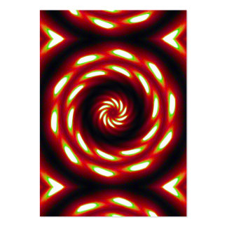 Fire Moon Mandala Pack Of Chubby Business Cards