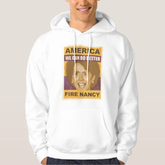 Fire Nancy Pelosi Hooded Pullovers