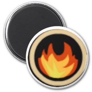 Fire Ninjas Symbol Magnet FireNinjas